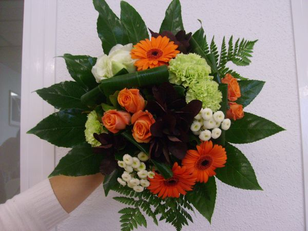 Bouquet rond blog de x drummy flowers for Bouquet par internet