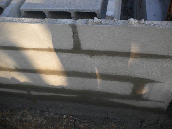 Vide sanitaire notre construction maison vivre ici - Enduit hydrofuge vide sanitaire ...